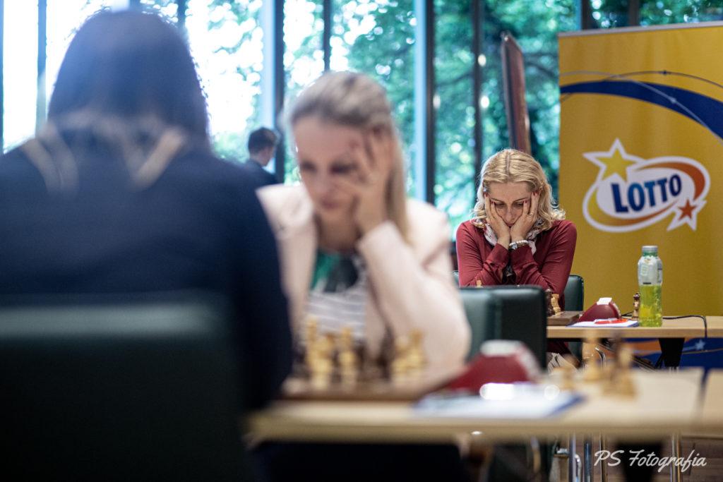 Mistrzostwa Polski w szachach, Runda 7 – Wzloty i upadki